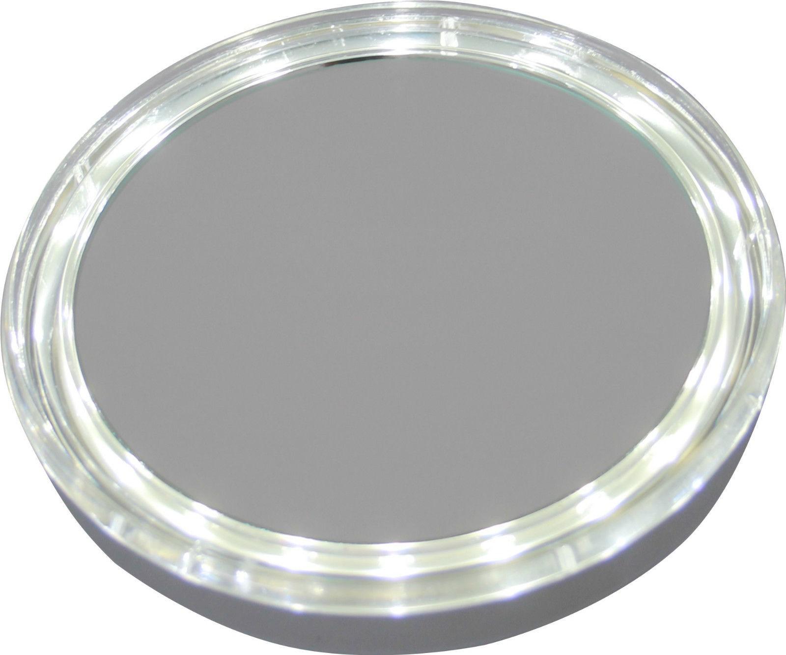 taschenspiegel beleuchteter hand kosmetikspiegel mit 5fach vergr erung led bad kosmetikspiegel 2860. Black Bedroom Furniture Sets. Home Design Ideas