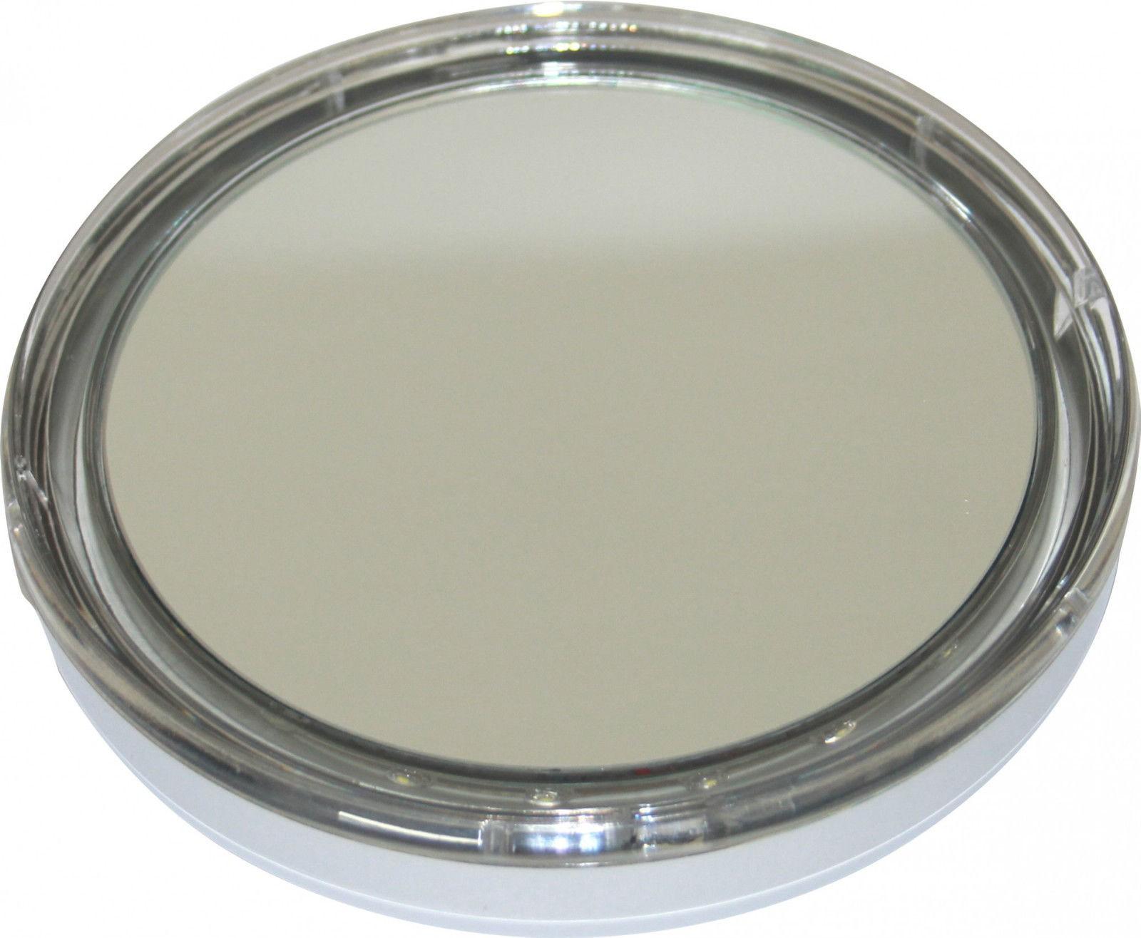taschenspiegel beleuchteter hand kosmetikspiegel mit 5fach. Black Bedroom Furniture Sets. Home Design Ideas