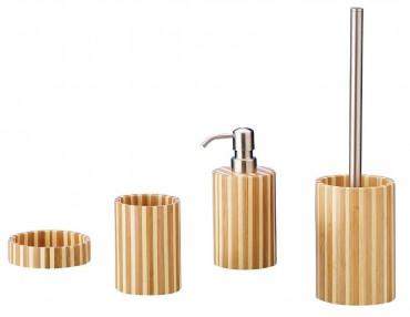 Bad accessoires bambus  Bad Accessoires Set